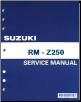 2012- 2013 Suzuki RM-Z250 Factory Service Manual (SKU: 995004219203E)