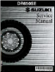 1996 - 2011 Suzuki DR650SE Factory Service Manual (SKU: 995004607203E)