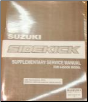 1991 Suzuki Sidekick Factory Service Manual Supplement for 4-Door Models (SKU: 9950160A5033E)