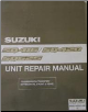 1998 SQ416, SQ420, SQ625 (Vitara & Grand Vitara) Factory Unit Repair Manual (SKU: 9950165D0033E)