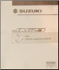 2001 Suzuki JA627 (XL-7) Factory Wiring Diagrams Manual (SKU: 9951252D0033E)