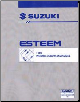 1998 Suzuki Esteem Factory Wiring Diagrams Manual (SKU: 9951260G3033E)