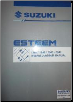 1998 - 2001 Suzuki Esteem Factory Wiring Diagrams Manual (SKU: 9951260G6033E)