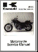 1996 - 2009 Kawasaki Vulcan LTD EN500C Factory Service Manual (SKU: 99924119413)