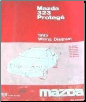 1995 Mazda 323 Protege Factory Wiring Diagrams Manual (SKU: 999995019G95)