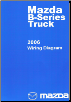 2006 Mazda B-Series Truck Factory Wiring Diagram Manual (SKU: 999995020G06)