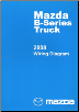 2008 Mazda B-Series Truck Factory Wiring Diagrams (SKU: 999995020G08)