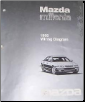 1998 Mazda Millenia Wiring Diagram Manual (SKU: 999995036G98)