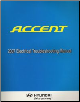 2007 Hyundai Accent Factory Electrical Troubleshooting Manual - ETM (SKU: A1EEEU66B)