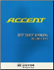 2007 Hyundai Accent Factory Shop Manual Volume 2 (SKU: A1ESEU66B2)
