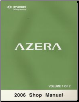 2006 Hyundai Azera Factory Shop Manual Volume 1 (SKU: A3LSEU58A1)