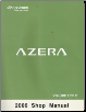 2006 Hyundai Azera Factory Shop Manual Volume 2 (SKU: A3LSEU58A2)