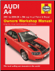 2001- 2004 Audi A4 (X to 54 reg) 4-cyl Gas & Diesel - Haynes Repair Manual (SKU: 1844256099)