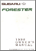 1998 Subaru Forester Factory Owner's Manual (SKU: A8010BE)