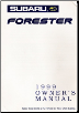 1999 Subaru Forester Owner's Manual (SKU: A8020BE)