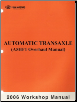 2006 Kia Automatic Transaxle Overhaul Manual A5HF1 (SKU: ATMSEG55B)