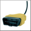 Standard Yellow OBD-II Connector AX20250 (SKU: AX20250)