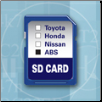 TECHSCAN 7000 SD Expansion Card for Domestic ABS (SKU: AX30230)