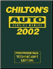 2002 Chilton's Auto Service Manual, Shop Edition (1998 - 2001 Year coverage) (SKU: 0801993466)
