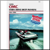 1964 - 1986 OMC Stern Drive Clymer Repair Manual (SKU: B730-0892873981)