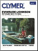 1973 - 1990 Johnson / Evinrude 2-40 hp (Includes Electric Motors) Outboard Clymer Shop Manual (SKU: B732-0892875542)