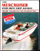 1998 - 2004 MerCruiser Stern Drives - Alpha One, Bravo One, Two and Bravo Three Clymer Repair Manual (SKU: B7452-0892879149)