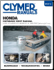 1976 - 2007 Honda, 2-130 hp 4 Stroke (Includes Jet Drives) Outboard Clymer Repair Manual (SKU: B7572)