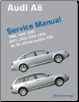 1998 - 2004 Audi A6, Allroad Quattro, S6 & RS6 Factory Service Manual (SKU: BENTLEY-A604)