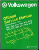 1968 - 1979 Volkswagen Station Wagon/Bus Official Service Manual Type 2 (SKU: BENTLEY-V279)