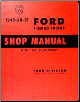 1949 - 1952 Ford F-Series Trucks Factory Shop Manual CD-ROM (SKU: BISH-12009)