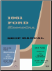 1961 - 1964 Ford Econoline Factory Shop Manual CD-ROM (SKU: BISH-12018)