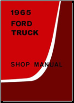 1965 Ford Truck Factory Shop Manual CD-ROM (SKU: BISH-12020)