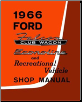 1966 Ford Econoline Factory Shop Manual CD-ROM (SKU: BISH-12022)