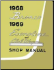 1968 - 1969 Ford Bronco, Econoline & Club Wagon Factory Shop Manual CD-ROM (SKU: BISH-12026)