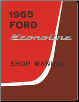 1965 Ford Econoline Factory Shop Manual CD-ROM (SKU: BISH-12095)