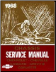 1968 Chevrolet Car Factory Service Manual and Fisher Body Manual on CD-ROM (SKU: BISH-2910)