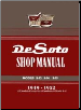 1949 - 1952 DeSoto Factory Service Manual on CD-ROM (SKU: BISH-3421)