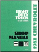 1982 Chevrolet Truck Light Duty Factory Service Manual on CD-ROM (SKU: BISH-3894)