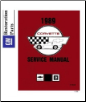 1989 Chevrolet Corvette Factory Body, Chassis & Electrical Service Manual on CD-ROM (SKU: BISH-4138)