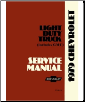 1979 Chevrolet Truck Light Duty  Body, Chassis & Drivetrain with Wiring Shop Manual (SKU: BISH-476)