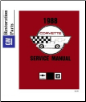 1988 Chevrolet Corvette Factory Body, Chassis & Electrical Service Manual on CD-ROM (SKU: BISH-5229)