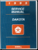 1995 Dodge Dakota Factory Service Manual on CD-ROM (SKU: BISH-5642)