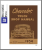 1954 Chevrolet Truck Full Line Factory Body, Chassis & Electrical Service Manual on CD-ROM (SKU: BISH-5543)
