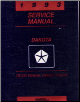1993 Dodge Dakota Factory Service Manual on CD-ROM (SKU: BISH-5639)