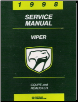 1998 Dodge Viper Factory Service Manual on CD-ROM (SKU: BISH-5644)