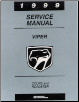 1999 Dodge Viper Factory Service Manual on CD-ROM (SKU: BISH-5651)