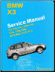 BMW X3 Factory Service Manual 2004 - 2010