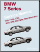 1995 - 2001 BMW 7 Series (E38) 740i, 740iL, 750iL Bentley Factory Service Repair Manual