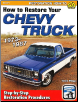 How To Restore Your Chevy Truck: 1973 - 1987 (SKU: CARTECH-SA331)