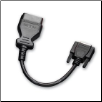 Actron CP9142 OBD II Cable for use with Actron CP9145/CP9150 and CP9185/CP9190 Scan Tools (SKU: CP9142)